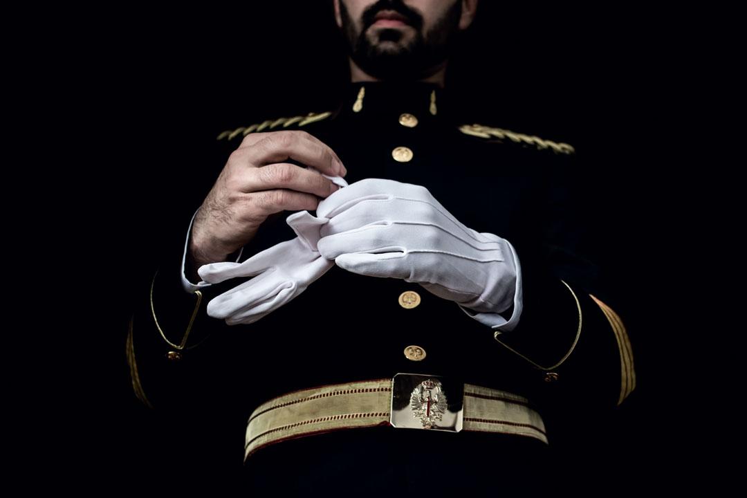 Fotografías de una boda militar